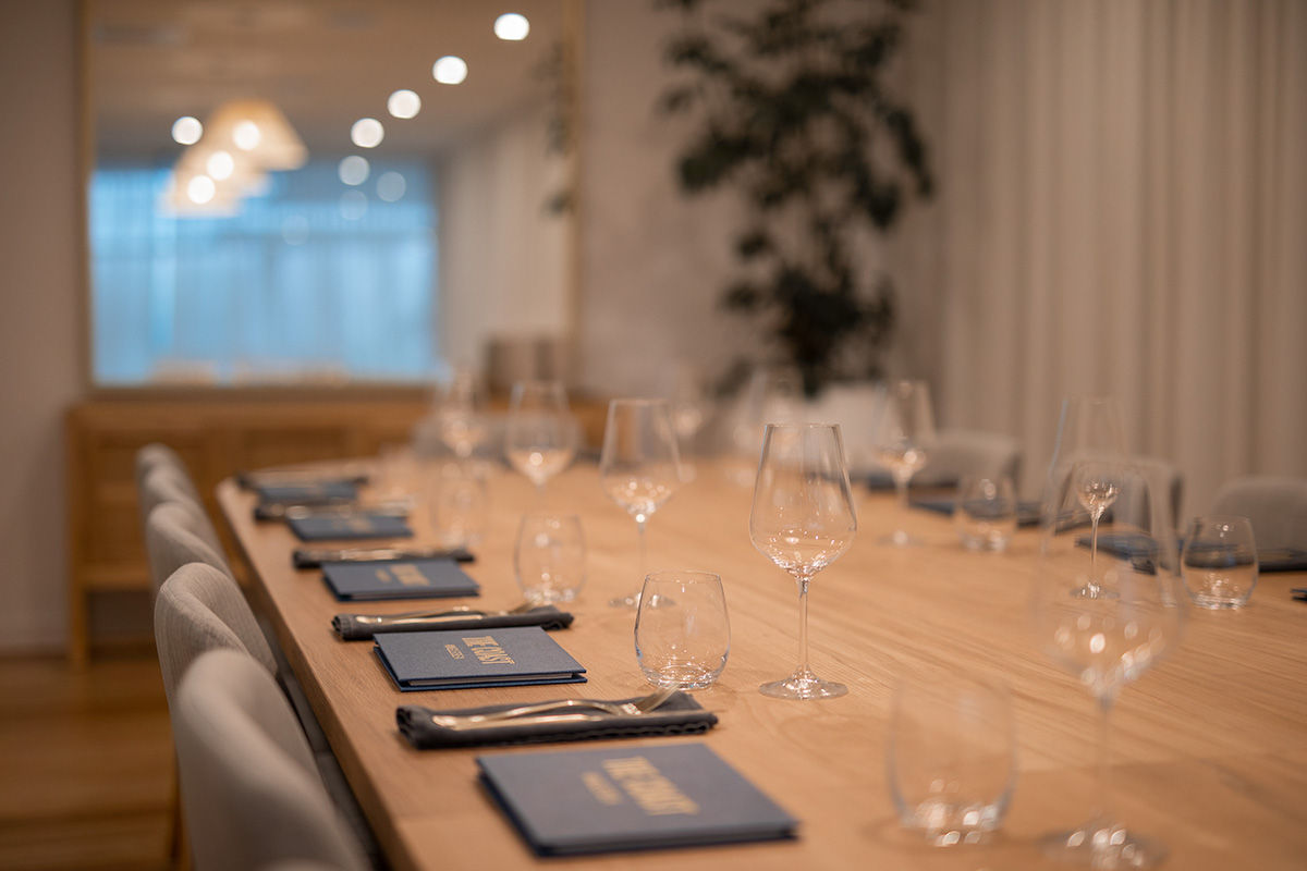 Private dining function area