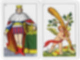 Sarde playing card deck from Southern Italy
