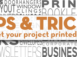 GET THE MOST FROM YOUR PRINTED PIECE | TIP #2