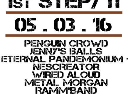 Ramm'band примет участие в Emergenza Festival (05.03.2016, Little Rock, Москва)