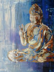 Bouddha Blue