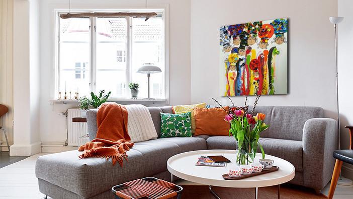 Verrassende schilderijen voor elk interieur.
