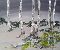 Berkenbomen lente
