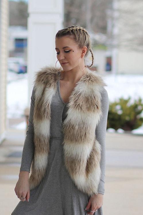 Skies fur vest size xs (runs larger)
