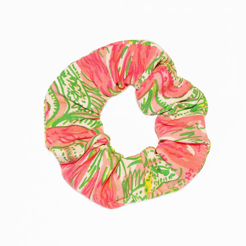 Look cute wearing this Lilly Pulitzer print hair scrunchies
