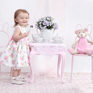 Tea party photo shoot
