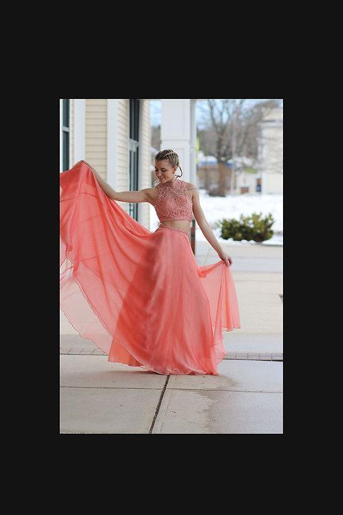 Sheri Hill Beautiful Formal 2 piece Dress size 2