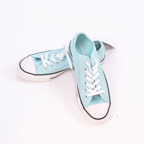 Converse teal green/blue sneakers size 7