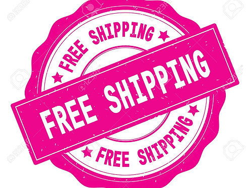 FREE SHIPPING with orders over $25.00 -Must use promo code FREESHIPPING