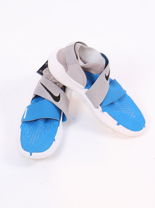 Adidas blue & white sneakers size 8