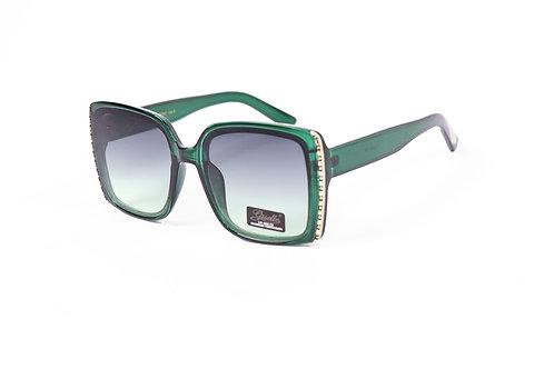 Stylish Giselle green sunglasses NWT