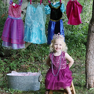 Little princess photo shoot