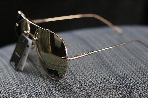 Stylish Giselle gold sunglasses NWT
