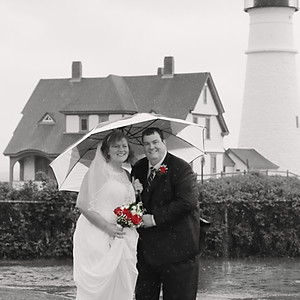 Rainy Day Wedding - Amy and Matt
