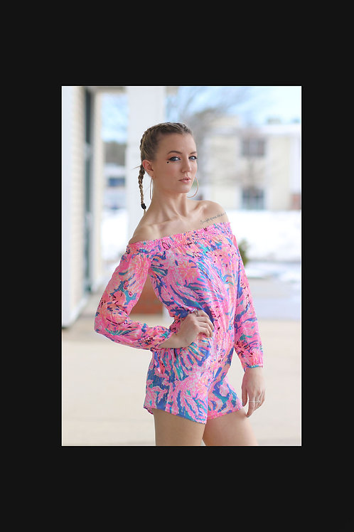 Lily Pulitzer Summer Jumper size xxs
