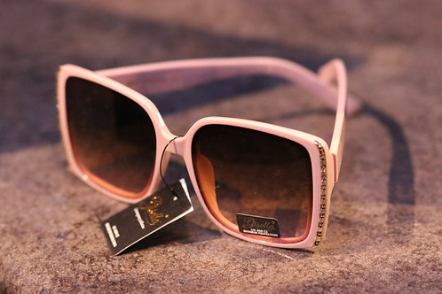 Adorable Giselle pink (with rhinestone look) sunglasses NWT