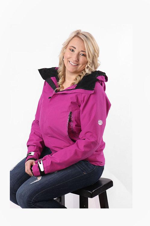 686 pink windbreaker stylish jacket size med