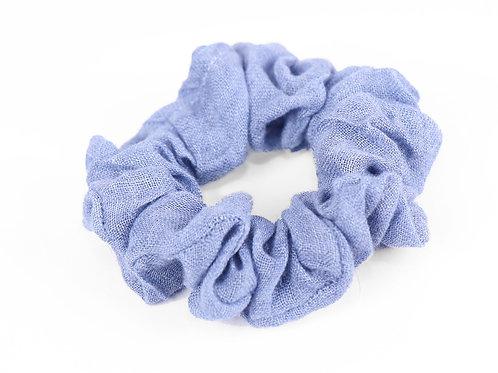 Look cute wearing this beautiful blue print hair scrunchies
