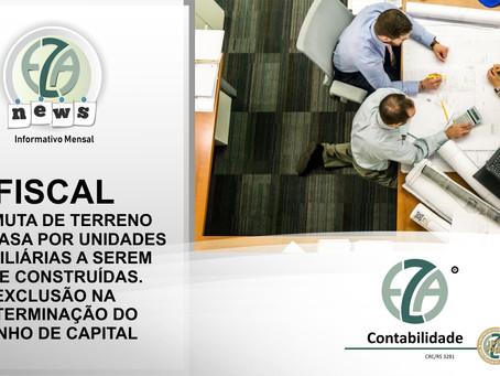 PERMUTA DE TERRENO COM CASA POR UNIDADES IMOBILIÁRIAS A SEREM NELE CONSTRUÍDAS. EXCLUSÃO NA DETERMIN