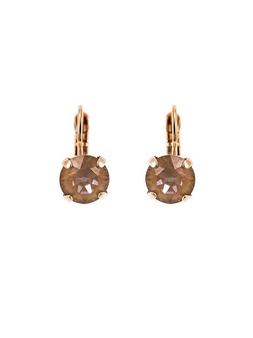 24K Rose Gold plated Earrings Swarovski Crystals