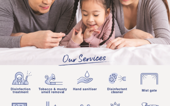 Disinfection Services with CLEANIXX Singapore