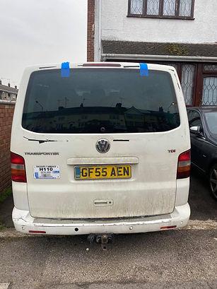 Volkswagen Van Tailgate Repairs