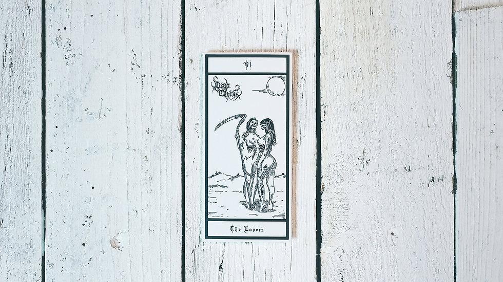 Tarot Karte Premium Sticker