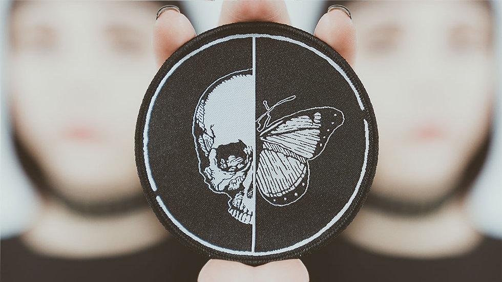 Skull'n Butterfly Logo Patch