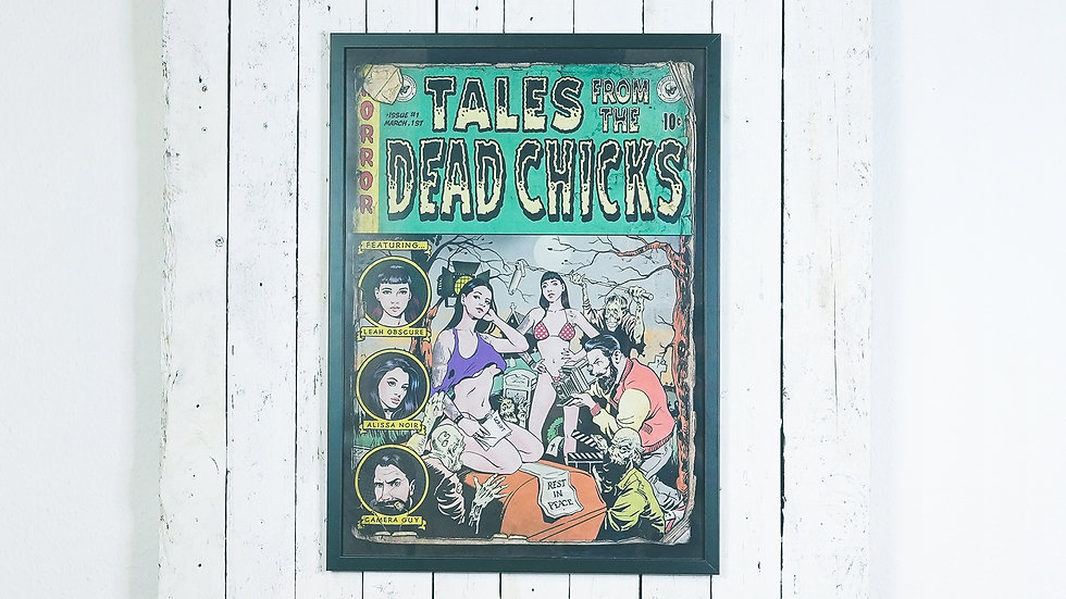 Tales from the Dead Chicks Poster