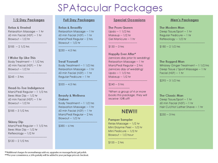 Check out our new Pamper Sampler