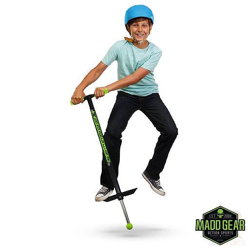 Madd Gear Pogo Stick - Black Lime - Life
