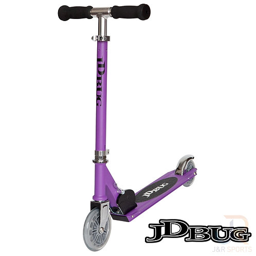 JD BUG Junior Street Scooter - Purple Matt