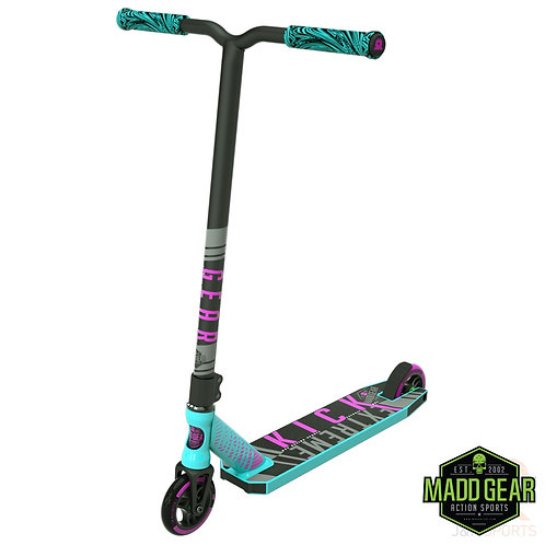 MADD Kick EXTREME V4 Scooter - Teal/Pink