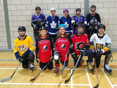 100th Rollerhoc Game at CSC