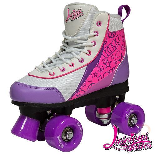 Luscious Roller Skates - Purple Punch