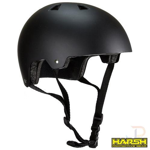 Harsh ABS Helmet - Matt Black