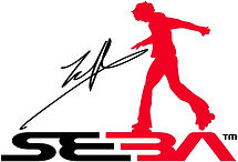 SEBA Logo inc Seb Black Red on White 200