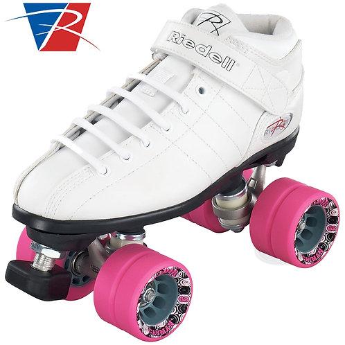 Riedell R3 Roller Skates - White