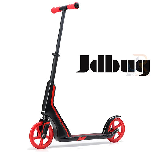 JD BUG PRO Commute 185 Scooter - Black/Red