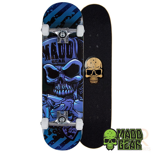 Madd Pro Sk8board - Hatter Strip Blue