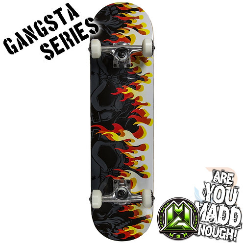 Madd Gangsta Sk8board - On Fire