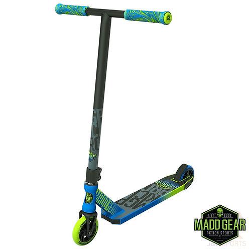 Madd Kick PRO V4 Scooter - Blue/Lime