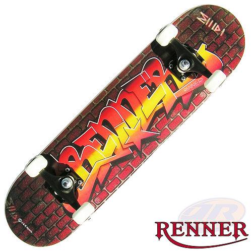 RENNER A Series Skateboards -Graffiti Wall