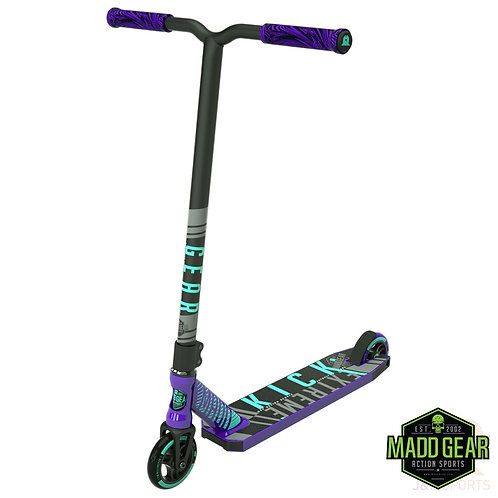 MADD Kick EXTREME V4 Scooter - Purple/Teal