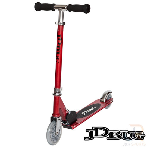 JD BUG Junior Street Scooter - Red Glow Pearl