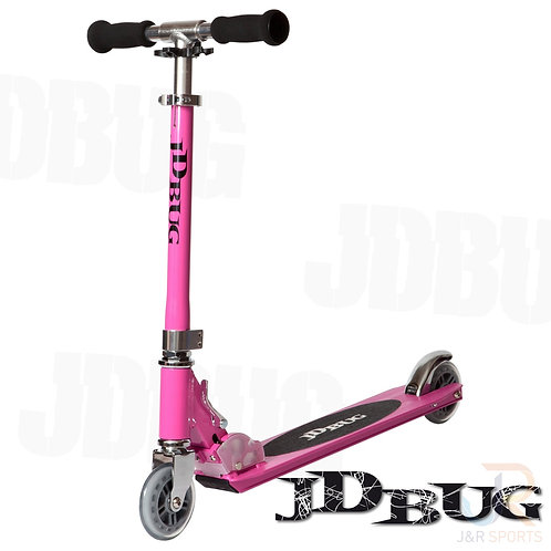 JD BUG Original Street Scooter - Pastel Pink