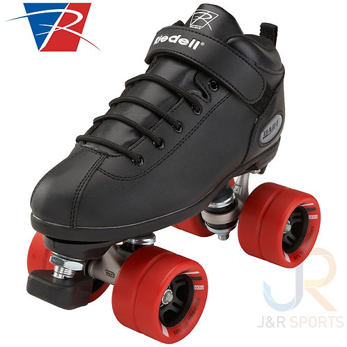 Riedell Dart Roller Skates - Black