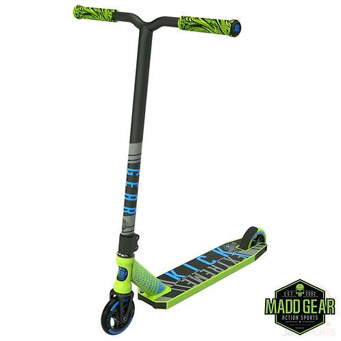 MADD Kick EXTREME V4 Scooter - Lime/Blue