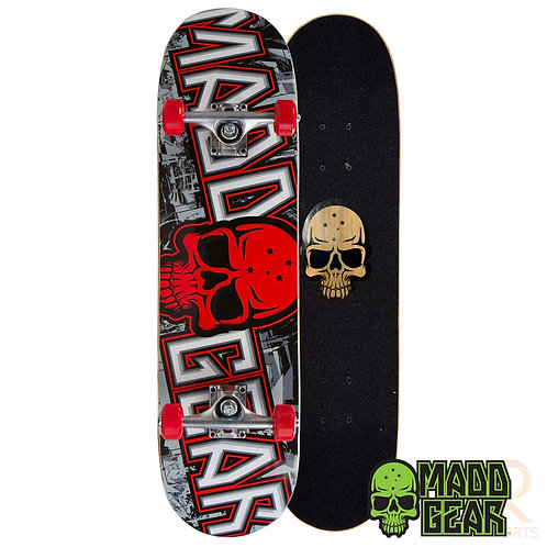 Madd Pro Sk8board - Grittee Red