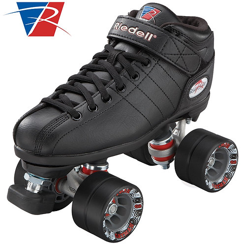 Riedell R3 Roller Skates - Black